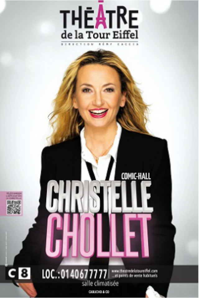 Christelle Chollet dans « Comic Hall » @ Théâtre de la Tour Eiffel - PARIS