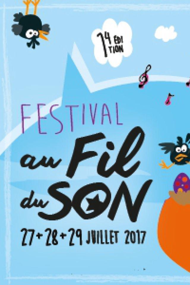 FESTIVAL AU FIL DU SON 2017 - PASS 2 JOURS J ET V @ Espace François Mitterand - CIVRAY
