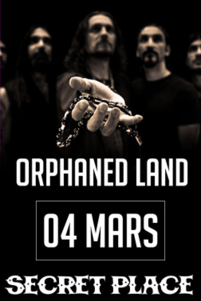 ORPHANED LAND + Oriental Metal  + DJ Kicka @ SECRET PLACE - SAINT JEAN DE VÉDAS