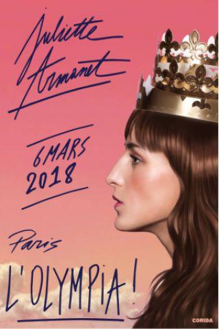 Concert JULIETTE ARMANET à Paris @ L'Olympia - Billets & Places