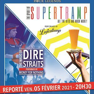 Rock Legends : Supertramp & Dire Straits