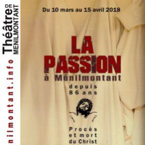 LA PASSION A MENILMONTANT @ Théâtre de Ménilmontant - salle XXL - Paris