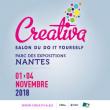 Salon CREATIVA - OFFRE SPECIALE à NANTES @ Hall XXL - Parc des Expositions - Nantes - Billets & Places