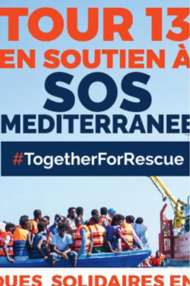 TOUR 13 SOS MEDITERRANEE : JOUR 1 @ Espace Julien - Marseille
