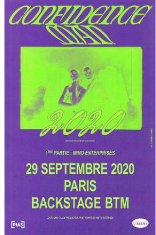Concert LOS NASTYS + BRACE! BRACE!  à PARIS @ Espace B - Billets & Places