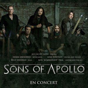SONS OF APOLLO + Guest @ La Laiterie - Grande Salle - Strasbourg