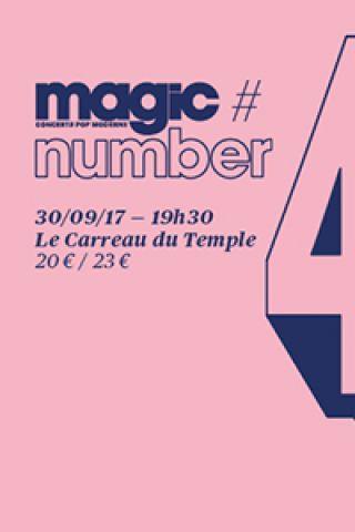 Concert Magic Number #4 - JP Nataf + Molly Burch à PARIS @ AUDITORIUM - CARREAU DU TEMPLE - Billets & Places