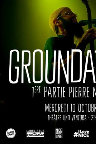 CONCERT GROUNDATION à Nice @ Théatre Lino Ventura - Billets & Places