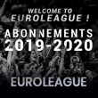 Match ABONNEMENT 2019/2020 EUROLEAGUE à Villeurbanne @ Astroballe - Billets & Places