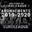 Match ABONNEMENT 2019/2020 EUROLEAGUE à Villeurbanne @ Astroballe - Billets & Places
