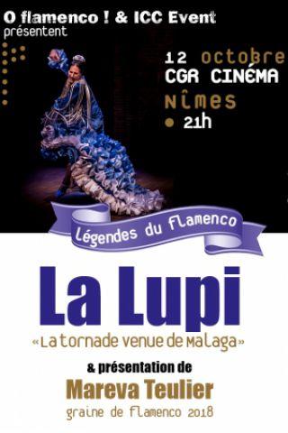 Spectacle La Lupi à NIMES @ CGR Cinéma  - Billets & Places
