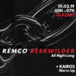 Soirée Nursery | Remco Beekwilder All Night Long à PARIS 19 @ Glazart - Billets & Places