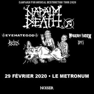 10 Ans De Noiser - Napalm Death & Eyehategod & Misery Index & Co