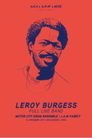 Concert LEROY BURGESS Full Live Band + MCDE à Paris @ New Morning - Billets & Places