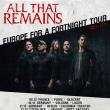 Concert All That Remains « Europe for a fortnight tour »