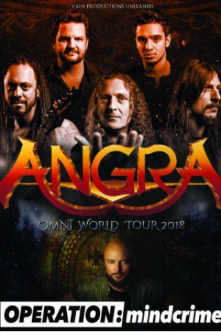 Concert Angra + Operation Mindcrime + Halcyon Way + Avelion