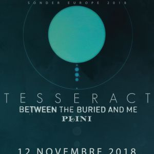 TESSERACT @ Le Trabendo - Paris
