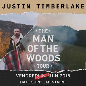 JUSTIN TIMBERLAKE - The Man of the Woods Tour @ ACCORHOTELS ARENA - PARIS