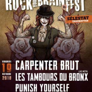 ROCK YOUR BRAIN FEST #6 @ Les Tanzmatten - SÉLESTAT