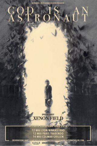 Concert GOD IS AN ASTRONAUT + XENON FIELD