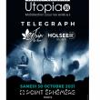CONCERT SOLIDAIRE UTOPIA 56 : TELEGRAPH + 21 JUIN + HOLSEEK DJSET à Paris @ Point Ephémère - Billets & Places