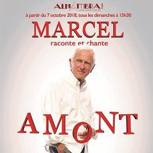 MARCEL RACONTE ET CHANTE AMONT @ ALHAMBRA MUSIC CLUB - PARIS