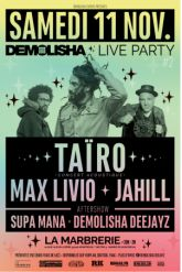 Taïro / Max Livio / Jahill / Supa Mana / Demolisha Dj's