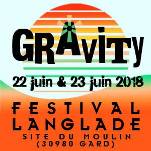 GRAVITY FESTIVAL 2018 - PASS 2 JOURS @ Site du moulin - LANGLADE