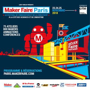 Maker Faire Paris (+Explora) @ Cité des sciences et de l'industrie - PARIS