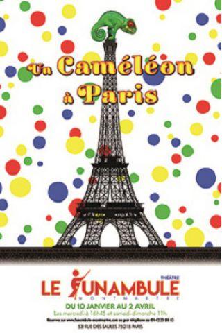 Spectacle UN CAMÉLÉON A PARIS