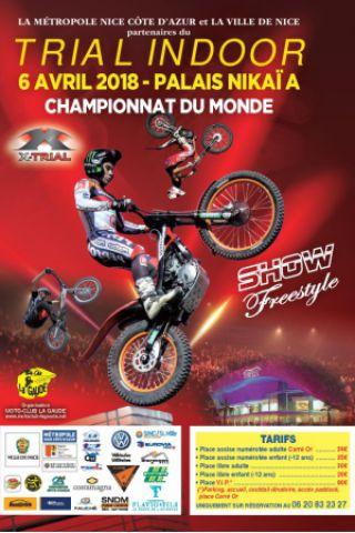 CHAMPIONNAT DU MONDE XTRIAL INDOOR DES NATIONS à NICE @ Le Palais Nikaia - Billets & Places