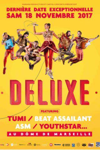 Concert DELUXE à Marseille @ Le Dôme - Billets & Places