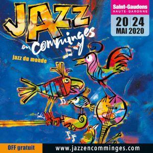Festival Jazz En Comminges 2020 - Pass 2 Soirs - 20 & 21 Mai