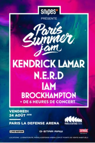 Concert PARIS SUMMER JAM