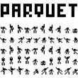 Affiche Parquet + encore + lemmings suicide myth