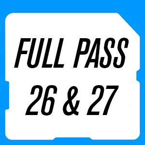 Full Pass 26 & 27 Juillet