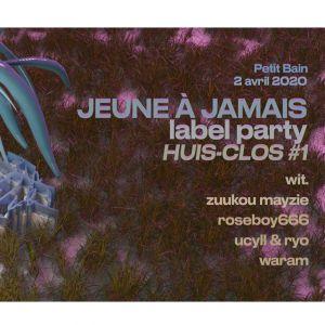 Hc#1 Jeune À Jamais Label Party W/ Wit., Zuukou Mayzie, Roseboy66