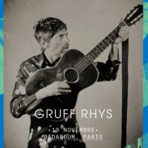 Gruff Rhys + Bill Ryder-Jones @ Badaboum - PARIS