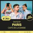 Concert STAY HOMAS à Paris @ Café de la Danse - Billets & Places