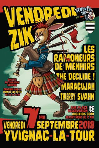 Concert VENDREDIZIK à YVIGNAC LA TOUR @ Stade - Billets & Places