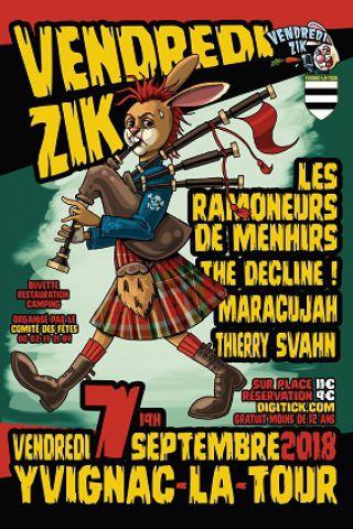 Concert VENDREDIZIK à YVIGNAC LA TOUR @ Stade - Billets & Places