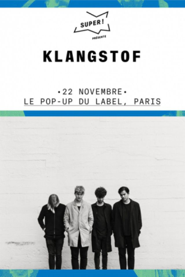 Klangstof + Daniel Alexander @ Pop-Up! - PARIS