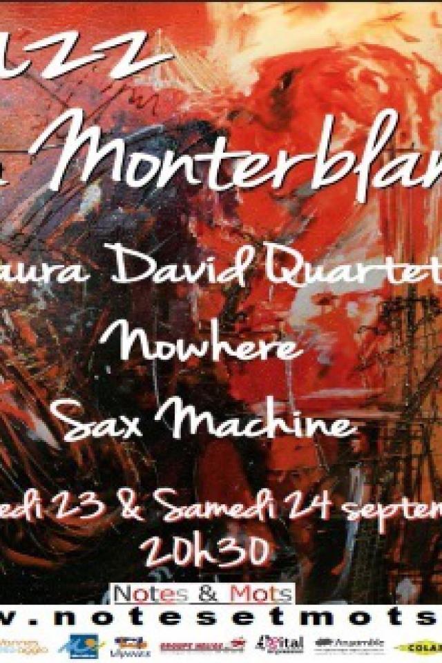 Concert Jazz in Monterblanc - PASS 2 JOURS @ Salle des fêtes / Parvis médiathèque - Billets & Places