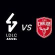 Match LDLC ASVEL / CHALON SUR SAONE à Villeurbanne @ Astroballe - Billets & Places