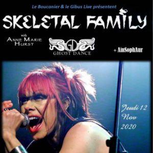 Skeletal Family & Ghost Dance With Anne-Marie Hurst + Ainsophaur