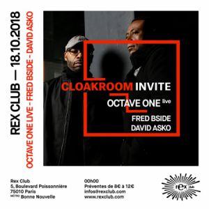 CLOAKROOM INVITE @ Le Rex Club - PARIS