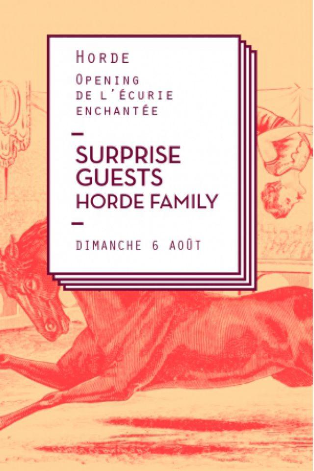 Opening Horde x Écurie Enchantée à PARIS @ L'ÉCURIE ENCHANTÉE - Billets & Places