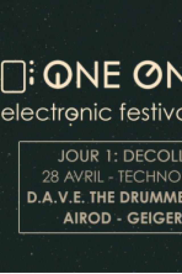 Soirée One One Six Festival / Jour 1 : Décollage [Techno / Acid] à PARIS 19 @ Glazart - Billets & Places