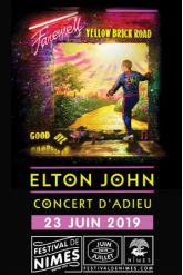Billets ELTON JOHN - Arènes de Nîmes