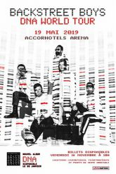 Billets BACKSTREET BOYS - ACCORHOTELS ARENA